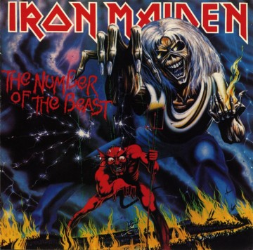 Iron Maiden 'The Number The Beast' (1982.)
