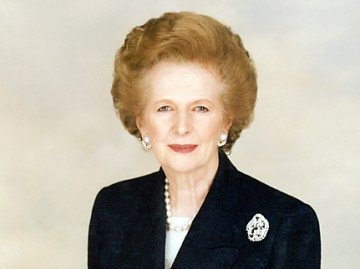 Margaret Thatcher (Foto: Wikipedia)