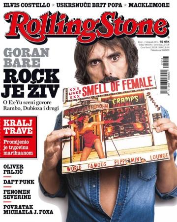 Prvi broj hrvatskog Rolling Stonea, listopad 2013.