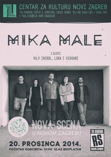 Mika Male i Nikol, Luka i Vedran u CZK Novi Zagreb