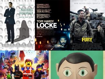 Razredni sovražnik, Locke, Fury, The Lego Movie i Frank