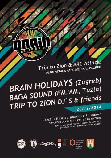 Brain Holidays i Baga Sound u AKC Attacku