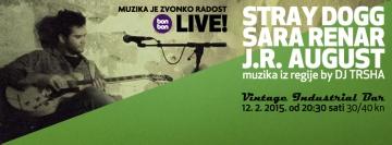 Muzika je Zvonko Radost - Live! u Vintage Industrial Baru