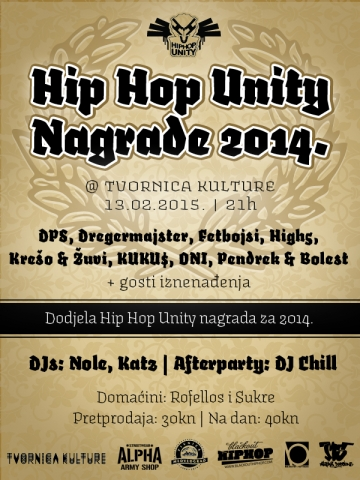 Hip Hop Unity u Tvornici kulture