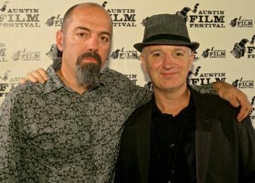 Član Morphinea Dana Colley i redatelj Mark Shuman na Austin Film Festivalu (Izvor: Facebook)