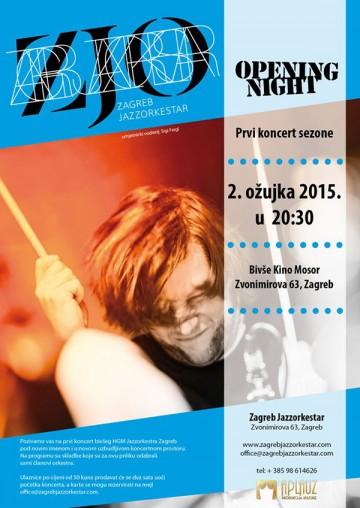 Zagreb Jazzorkestar u Kinu Mosor