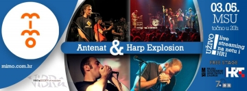Harp Explosion i Antenat na MIMO-u  dvorani Gorgona MSU-a