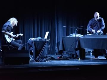 Eivind Aarset i Jan Bang (Foto: Vedran Metelko)