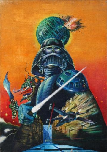 Plakat za prvi film iz serijala Zvjezdanih staza naziva 'Nova nada', Tibora Helényija - prodan za 12.750 dolara