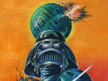 Plakat filma 'Star Wars - New Hope', mađarskog umjetnika Tibora Helényija