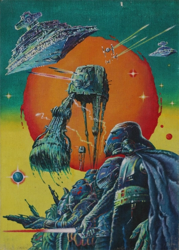 Plakat za film 'Imperij uzvraća udarac', prodan je na aukciji za 14.250 dolara