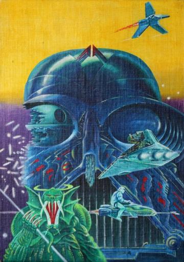 Plakat za film 'Povratak Jedia' potaknuo je najmanji interes na aukciji te je prodan za 5.100 dolara.