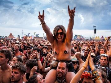 Heavy metal fanovi (Foto: Roberto Pavić)
