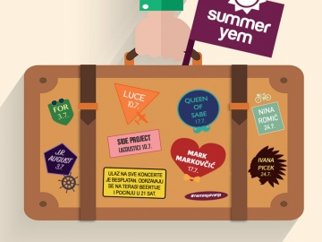 Summer Yem u dvorištu The Beertije