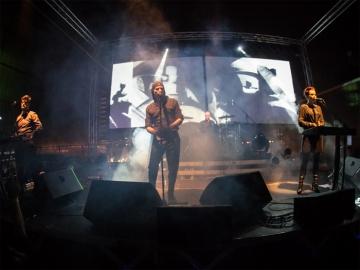 Laibach na krovu MSU-a (Foto: Izidor Tačković)