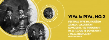 Viva la Piva No. 2 festival u Vintage Industrial Baru