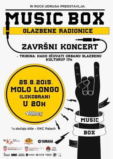 Music Box Glazbene Radionice u Rijeci