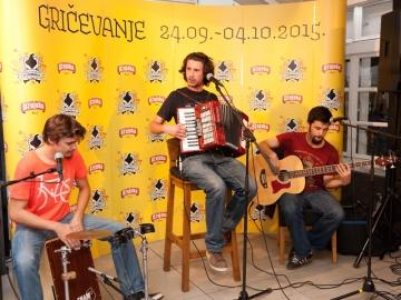 Street jam Mikija Solusa u Ožujsko pubu u Tkalčićevoj ulici na predstavljanju 5. Gričevanja (Foto: Gričevanje)