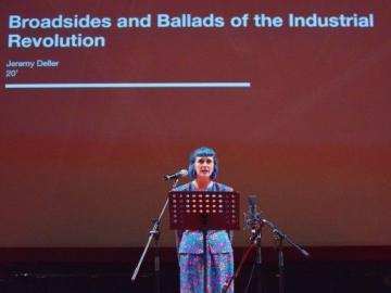 Jennifer Reid izvodi balade industrijske revolucije u Muzeju suvremene umjetnosti u Zagrebu