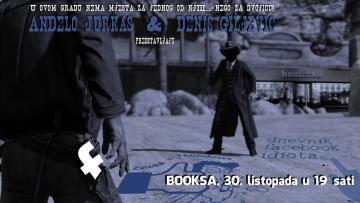 Dvostruka književna promocija u Booksi