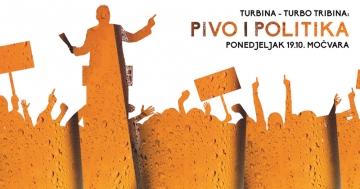 Pivo i politika - Turbo tribina u Močvari