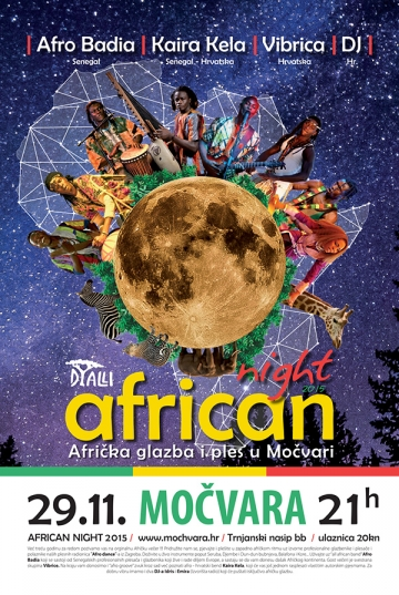 African Night u Močvari