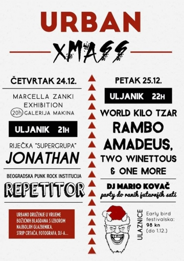 Urban Xmass u Puli