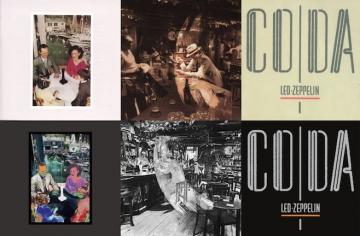Led Zeppelin 'Presence', 'In Through The Out Door' i 'Coda'