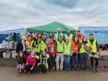 Volonteri iz humanitarne inicijative Are You Syrious?