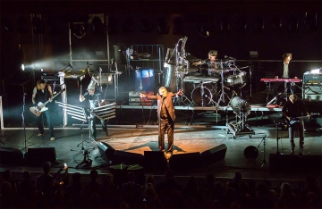 Einstürzende Neubauten na 2. SuperUho Festivalu (Foto: Tomislav Sporiš)