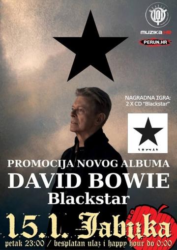 David Bowie večer u Jabuci