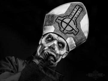 Papa Emeritus III - Ghost  (Foto: Roberto Pavić)