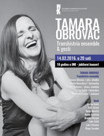 Tamara Obrovac u Istarskom narodnom kazalištu