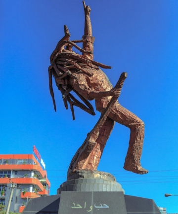 Spomenik Bobu Marleyu u Adis Abebi (Foto: Iamajamaican.net)