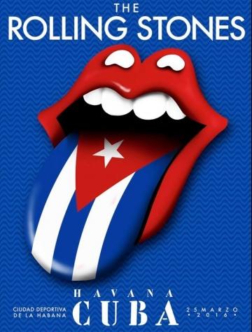 Plakat za koncert u Havani