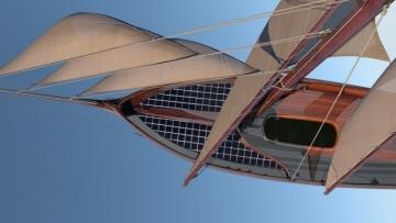 Projekt Solar retro boat