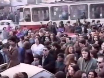 Ispred kamiona: Beograd 8. ožujka 1992.