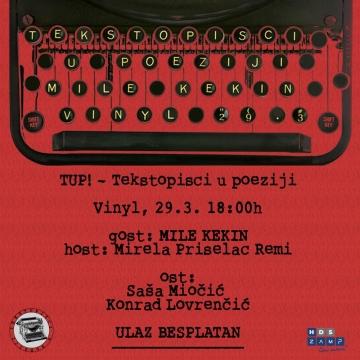 TUP! - Tekstopisci u poeziji
