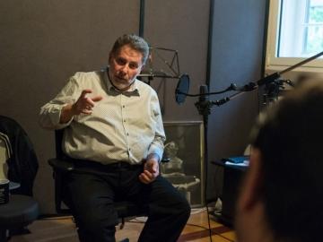 Zdenko Kolar - prvi sugovornik u filmu 'Nebeska tema' (Foto: Nemanja Đorđević)