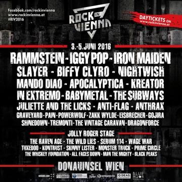 Rock In Vienna 2016