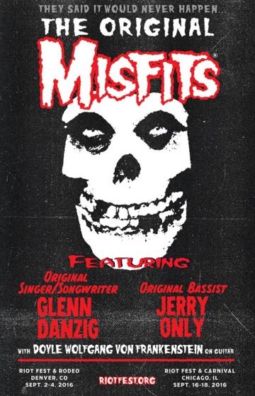 Glenn Danzig i Jerry Only u Misfitsima