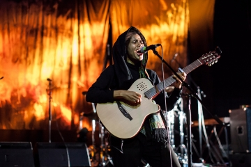 Nneka u Kinu Šiška (Foto: Aleš Rosa)