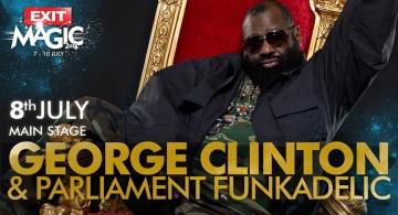 George Clinton & Parliament Funkadelic na Exitu