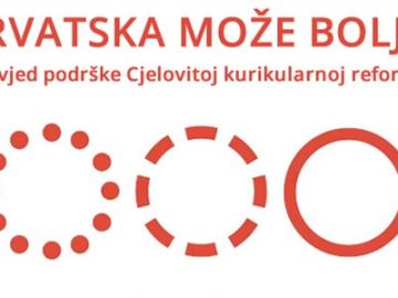 Podrška cjelovitoj kurikularnoj reformi na Jelačićevom trgu u Zagrebu