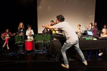 Pioniri Tvornice Zvuka predvođeni Nenadom Sinkauzom otvorili 4. Izlog suvremenog zvuka (Foto: Tjaša Kalkan)