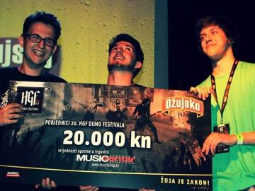 Karlovački bend Tight Grips pobjednik je 20. HGF demo festivala