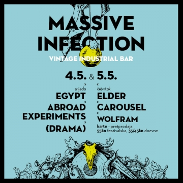 Massive Infection festival u Vintage Industrial Baru