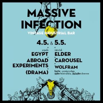 Massive Infection festival u Vintage Industrial Baru