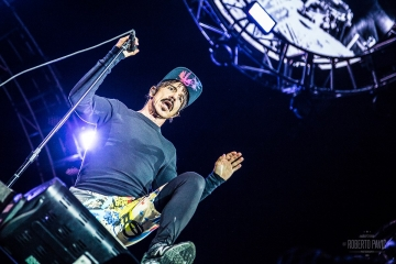 Red Hot Chili Peppers na festivalu Nova Rock 2016. (Foto: Roberto Pavić)