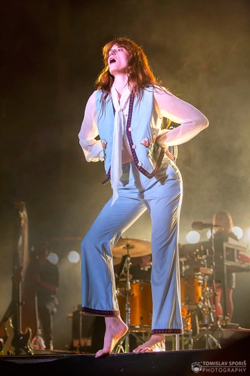 Florence + The Machine na 11. INmusic festivalu (Foto: Tomislav Sporiš)